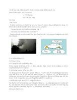 Chủ đề thảo luận hình thành HC (hydro carbons) ở các chế độ chuyển tiếp
