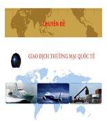 bài giảng giao dịch thương mại quốc tế