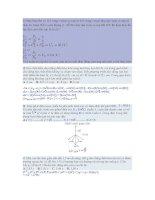 bài tập trắc nghiệm vật ý 12 hay và khó có đáp án