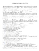 300 bài tập trắc nghiệm dao động điều hòa