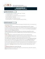 báo cáo thị trường băng vệ sinh phụ nữ 2012