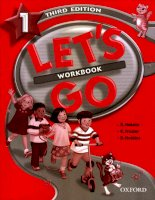 oxford - lets go 1 workbook 3 edition
