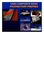 Đề tài công nghệ sản xuất composite bằng phương pháp prepreg