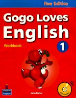 Gogo loves english 1 workbook