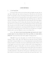 SỬ  DỤNG THANG ĐO SERVPERF ĐỂ ĐÁNH GIÁ CHẤT LƯỢNG DỊCH VỤ MUA HÀNG CUNG ỨNG TẠI CÔNG TY TNHH PHÂN PHỒI FPT