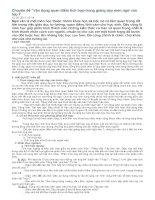 chuyên đề vận dụng quan điểm tích hợp trong giảng dạy môn ngữ văn lớp 7