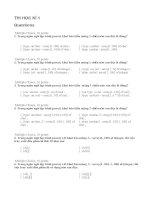 Ôn tập kiểm tra pascal học kỳ 1 khối 11