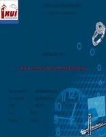 Báo cáo thực tập tổng hợp công ty TNHH thương mại dịch vụ sản xuất bạch kim minh châu