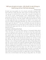 mối quan hệ giữa tự truyện – tiểu thuyết và một số dạng tự thuật trong văn học việt nam đương đại