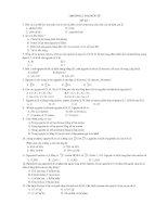 54 đề trắc nghiệm hóa học lớp 12