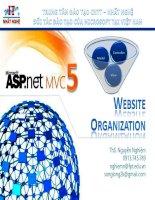 MVC Bài 07 website organization