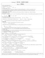 Lý thuyết và bài tập áp dụng nitophosphat