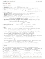 bài tập chương este lipid 12 nâng cao