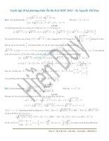 Tuyển tập 20 hệ phương trình ôn thi ĐH