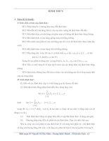 bài tập về đinh thức của toán cao cấp