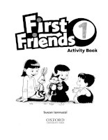 first friend 1 activity book