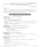 tài liệu luyện thi đại học môn toán(hình học không gian) từ các giáo viên đại học y dược huế.