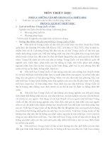 Những đặc điểm chủ yếu của triết học Trung Quốc cổ đại