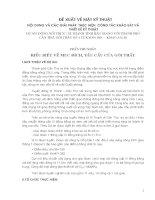 NỘI DUNG VÀ CÁC GIẢI PHÁP  THỰC HIỆN  CÔNG TÁC KHẢO SÁT VÀ  THIẾT KẾ KỸ THUẬT DỰ ÁN: ĐƯỜNG NỐI THỊ XÃ VỊ THANH TỈNH HẬU GIANG VỚI THÀNH PHỐ CẦN THƠ, GÓI THẦU SỐ 4 TỪ KM39+100 – KM47+352,48