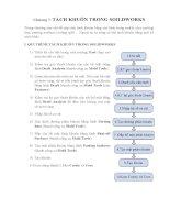 Tài liệu tách khuôn trong solidworks  Chương 7