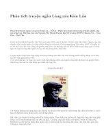 Phân tích truyện ngắn Làng của Kim Lân - văn mẫu