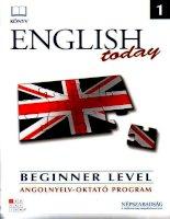 English today 1 beginner level