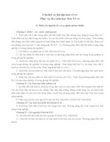 50 câu hỏi hoá vô cơ   2014