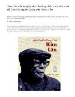 Tóm tắt cốt truyện tình huống chính và nêu chủ đề Truyện ngắn Làng của Kim Lân - văn mẫu