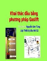 Khai thác dầu bằng phương pháp gaslift