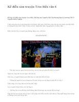 Kể diễn cảm truyện Treo biển văn 6 - văn mẫu