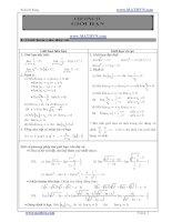 BÀI tập đại số 11 CẢ năm (NÂNG CAO, LTĐH)