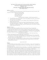 Tuyển tập đề thi chính thức vào lớp 10 (năm 2013  2014) môn Văn các tỉnh thành (có đáp án chi tiết)
