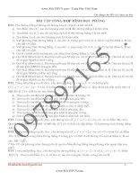 118 bài tập hình học phẳng oxy luyện thi đại học