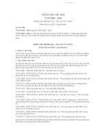 TCVN 5689 : 2005 NHIÊN LIỆU ĐIÊZEN (DO)  YÊU CẦU KỸ THUẬT