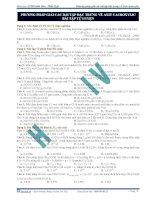 Bài tập và phương pháp giải bài tập đặc trưng về axit cacboxylic