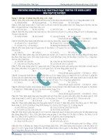 Bài tập và phương pháp giải bài tập về este lipit
