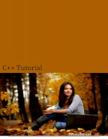 C++ Tutorial  English ebook