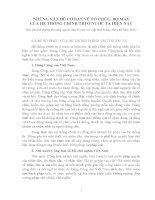 Tài liệu Thi Công chức: Tổ chức, Bộ máy của Hệ thống chính trị Việt Nam