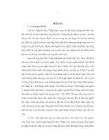 Từ quan niệm về cuộc sống và con người đến ngôn từ nghệ thuật trong truyện ngắn Nguyễn Huy Thiệp
