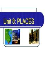 Unit 8: Places