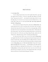 Nghệ thuật trong tiểu thuyết Cuồng phong của Nguyễn Phan Hách
