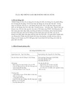đồ án phân tích thiết kế hệ thống giao dịch bằng thẻ đa năng