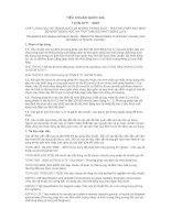 TCVN 3171 : 2007 CHẤT LỎNG DẦU MỎ TRONG SUỐT VÀ KHÔNG TRONG SUỐT  PHƯƠNG PHÁP XÁC ĐỊNH ĐỘ NHỚT ĐỘNG HỌC (VÀ TÍNH TOÁN ĐỘ NHỚT ĐỘNG LỰC)