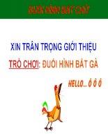 Đuổi hình bắt gà chào mừng ngày Phụ nữ Việt Nam