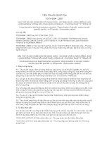 TCVN 6594 : 2007  DẦU THÔ VÀ SẢN PHẨM DẦU MỎ DẠNG LỎNG  XÁC ĐỊNH KHỐI LƯỢNG RIÊNG, KHỐI LƯỢNG RIÊNG TƯƠNG ĐỐI, HOẶC KHỐI LƯỢNG API  PHƯƠNG PHÁP TỶ TRỌNG KẾ