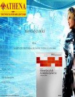 Báo cáo đề tài nghiên cứu và triển khai hệ thống ISA server 2006