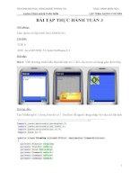 bài thực hành lập trình mobile với java đại học bách khoa