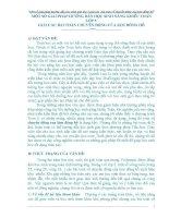 SKKN Một số giải pháp hướng dẫn học sinh năng khiếu toán lớp 5 giải các bài toán chuyển động của kim đồng hồ
