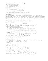 Bộ đề thi HSG toán 8 có đáp an