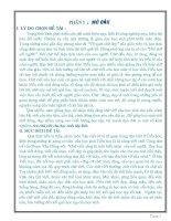 SKKN Rèn chữ viết cho học sinh lớp Bốn